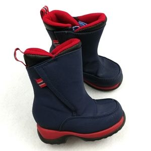 Lands' End Velcro Insulated Snow Boots Size 8M